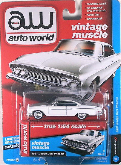 AW64172-5B .. 1961 Dodge Dart Phoenix