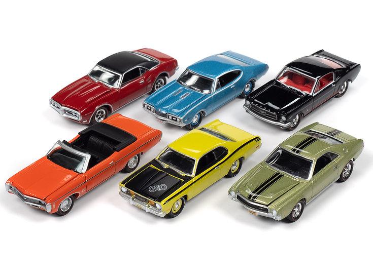 Johnny Lightning  JLMC022 - Set A - 6 Car Case