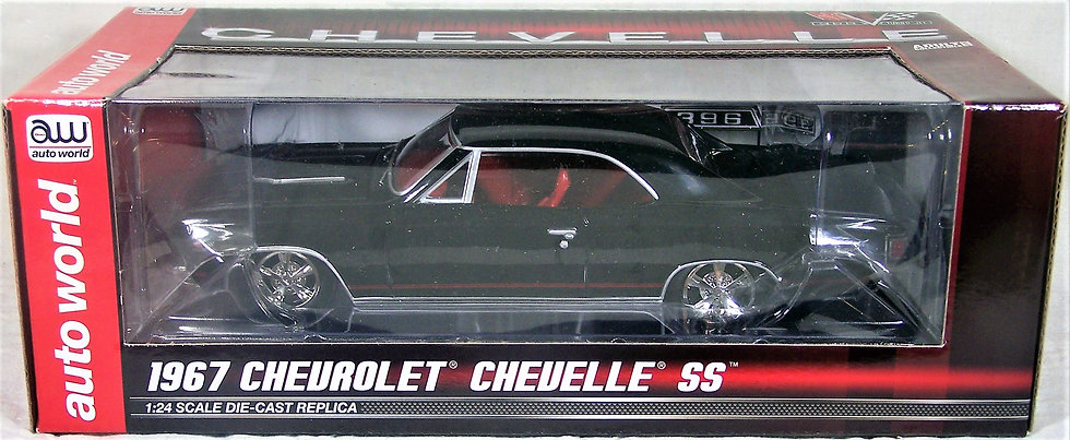 1:24 AW24006 .. 1967 Chevy Chevelle SS
