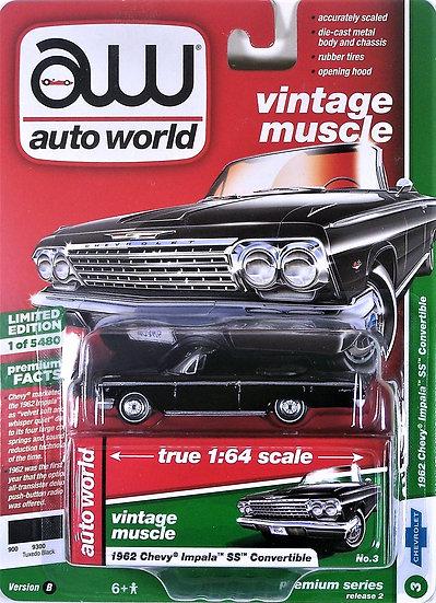 AW64222-3B .. 1962 Chevy Impala SS Convertible