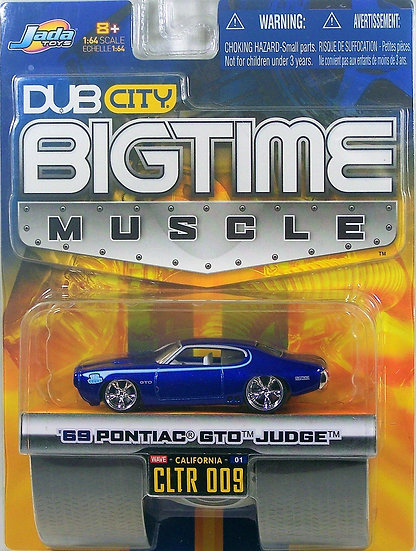 BTM W1-009 .. '69 Pontiac GTO Judge