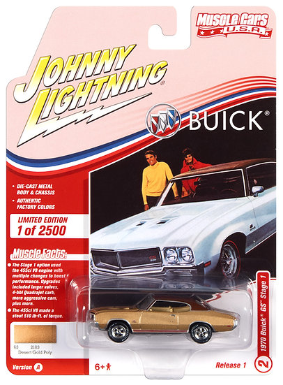 JLMC025-2A .. 1970 Buick GS Stage 1