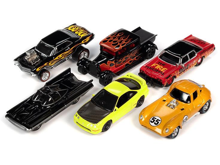 Johnny Lightning JLSF017 - Set A - 6 Car Case