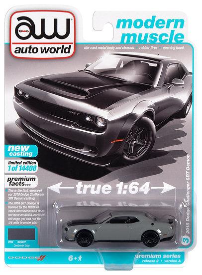 AW64312-3A .. 2018 Dodge Challenger SRT Demon