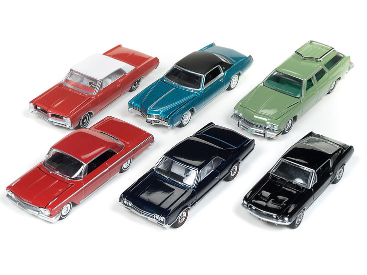 Auto World - AW64182 - Set A - 6 Car Case