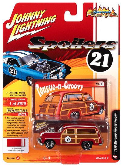 JLSF020-4A .. 1950 Mercury Woody Wagon (Spoilers)