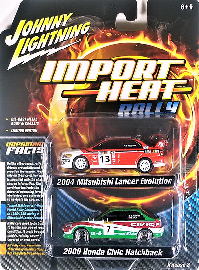 JLSP061 .. Import Heat Rally 2-Pack
