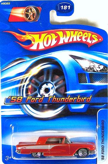 HW05-181(b) .. 58 Ford Thunderbird