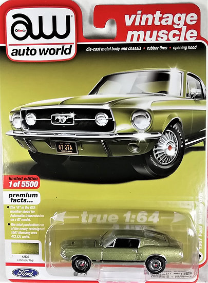 AW64232-4A .. 1967 Ford Mustang GTA