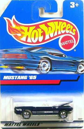 HW98-455 .. 65 Mustang Convertible