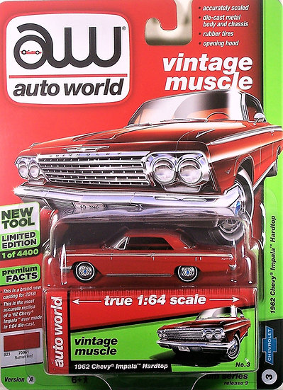 AW64182-3A .. 1962 Chevrolet Impala