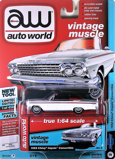 AW64192-2A .. 1962 Chevy Impala Convertible