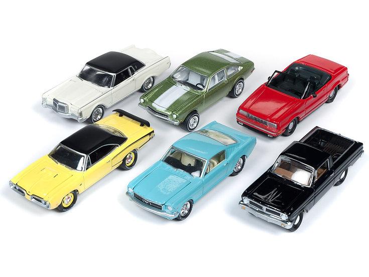 Johnny Lightning  JLCG019 - Set A - 6 Car Case