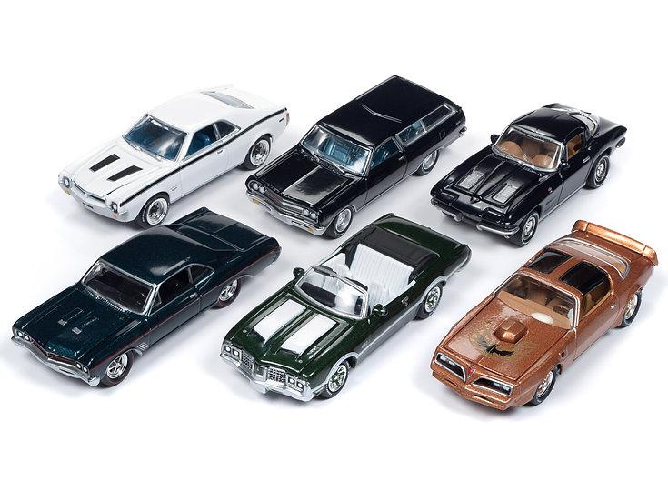 Johnny Lightning JLCG015 - Set B - 6 Car Case