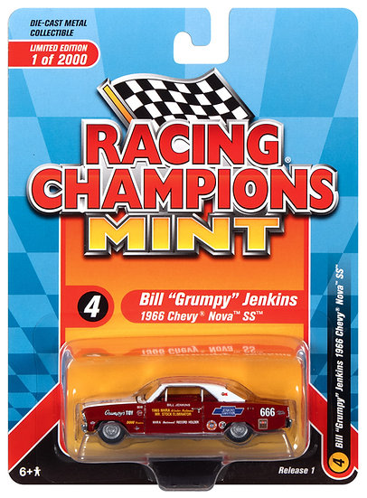 "RC012-4 .. Bill ""Grumpy"" Jenkins  1966 Chevy Nova SS"