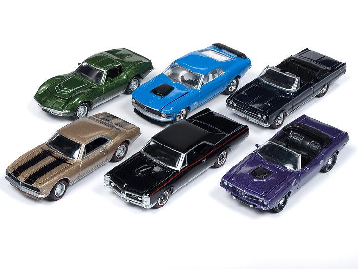 Johnny Lightning JLMC016 - Set B - 6 Car Case