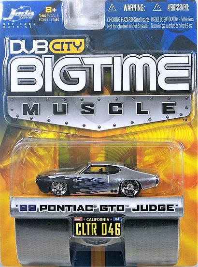 BTM W4-046 .. '69 Pontiac GTO Judge