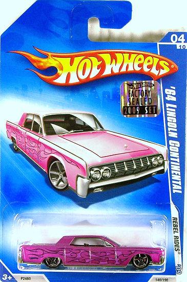 HW09-140(b)* .. 64 Lincoln Continental