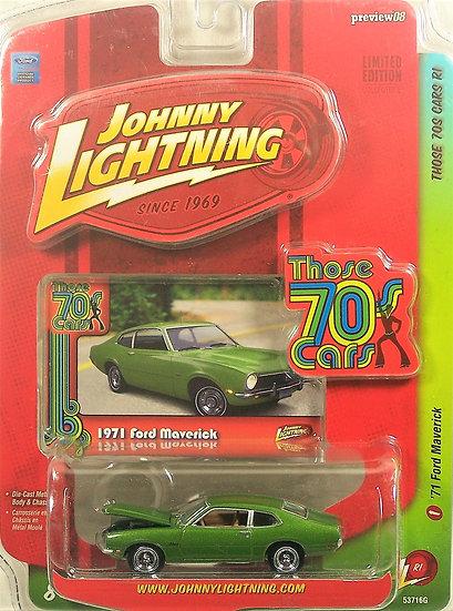 JL 50218-1 .. '71 Ford Maverick