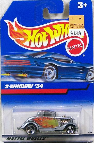 HW98-257 .. 3-Window '34