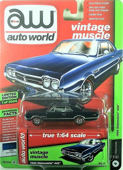 AW64182-4A .. 1966 Oldsmobile 442