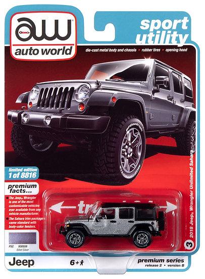 AW64252-3B .. 2018 Jeep Wrangler Unlimited Sahara