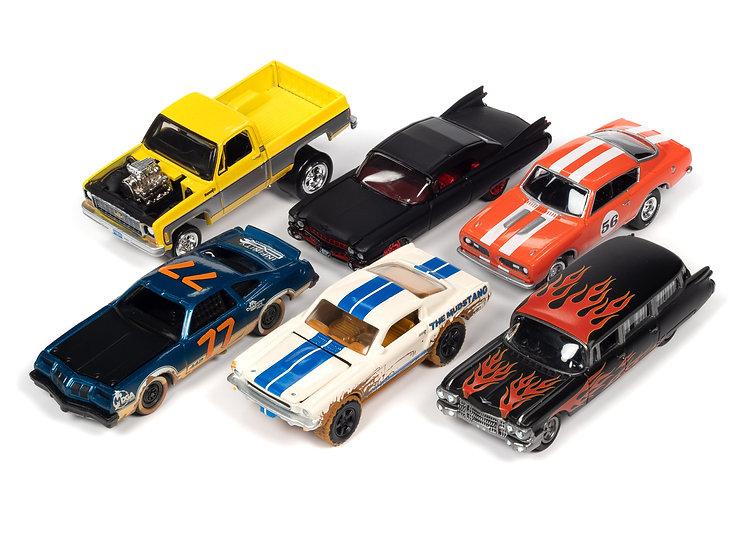 Johnny Lightning JLSF019 - Set B - 6 Car Case
