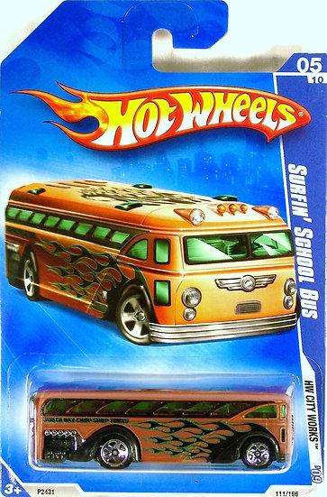 HW09-111(b) .. Surfin' School Bus