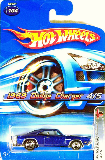 HW05-104(a) .. 1969 Dodge Charger