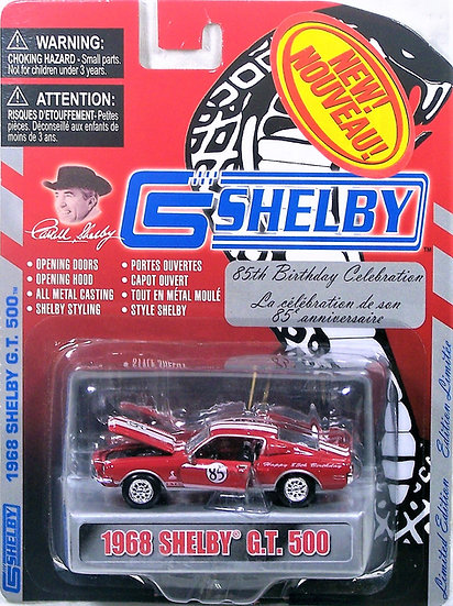 SC 001 .. 1968 Shelby GT500