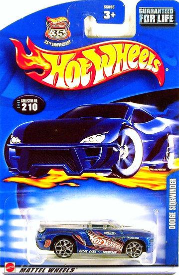 HW02-210 .. Dodge Sidewinder