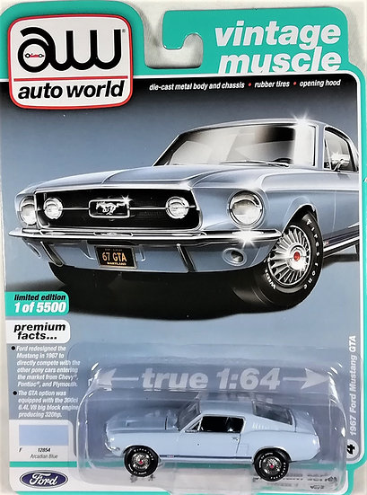 AW64232-4B .. 1967 Ford Mustang GTA