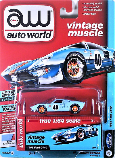 AW64192-3A .. 1965 Ford GT40
