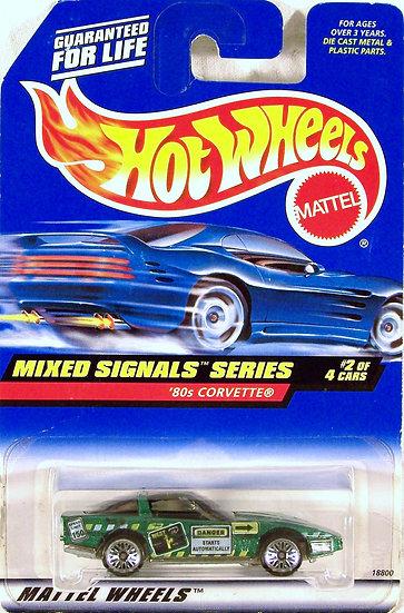 HW98-734 .. '80s Corvette