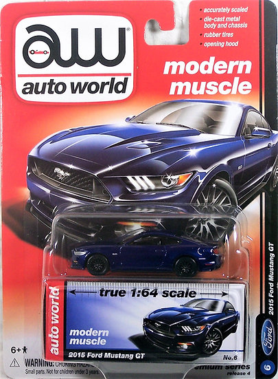 AW64032-6B .. 2015 Ford Mustang GT