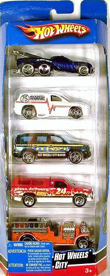 M08-K6176 .. Hot Wheels City Gift Pack