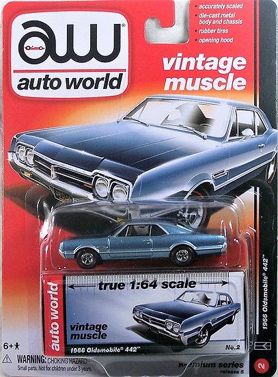 AW64042-2A .. 1966 Oldsmobile 442