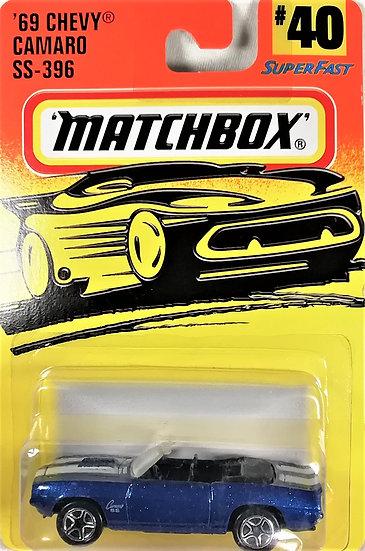 MB97-040 .. 69 Chevy Camaro SS 396