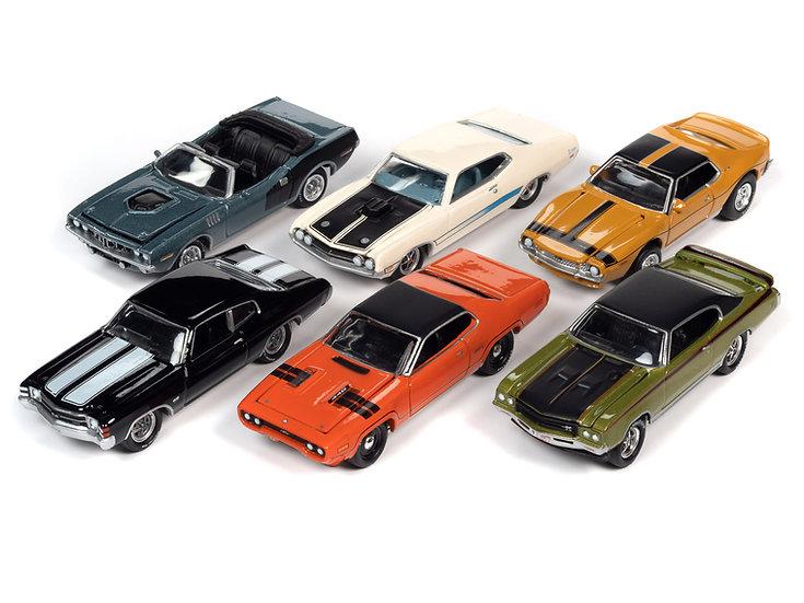 Johnny Lightning  JLMC026 - Set B - 6 Car Case