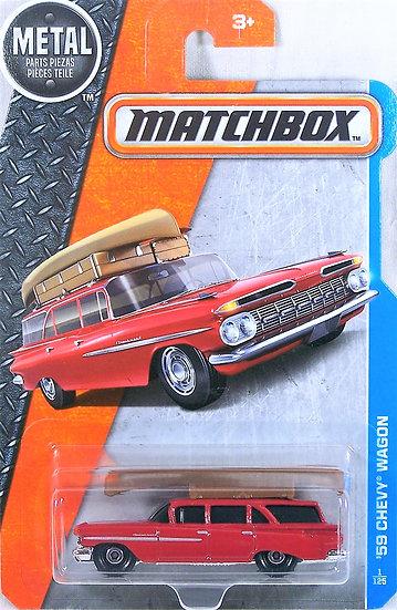 MB17-001 .. '59 Chevy Wagon