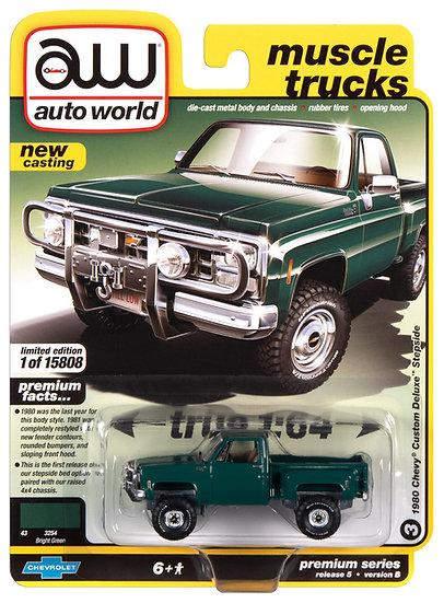 AW64282-3B .. 1980 Chevy Custom Deluxe Stepside
