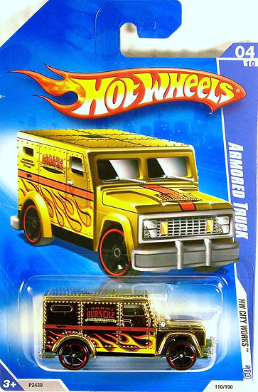 HW09-110(a) .. Armored Truck