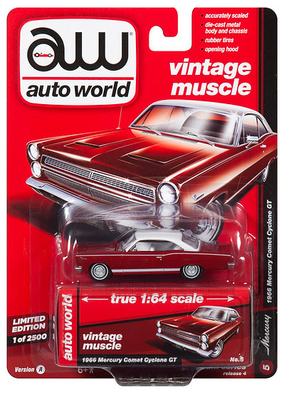 AW64152-5A .. 1966 Mercury Comet Cyclone GT