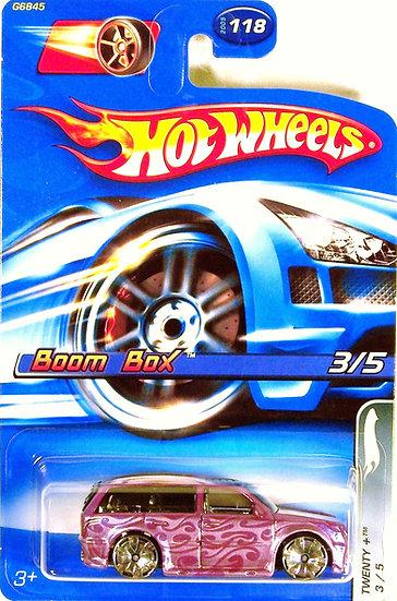 HW05-118(a) .. Boom Box