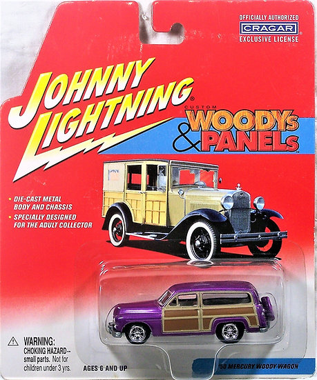 JL 377-01-5 .. '50 Mercury Woody Wagon