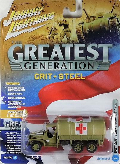 JLML002-1A .. WWII GMC CCKW 2-1/2 ton 6x6 Truck