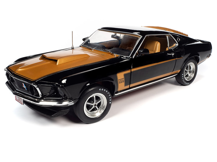 1:18 AMM1251 .. 1969 Ford Mustang Fastback