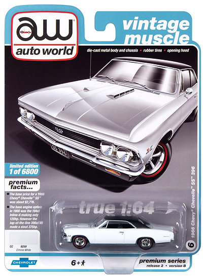 AW64252-6B .. 1966 Chevy Chevelle SS 396