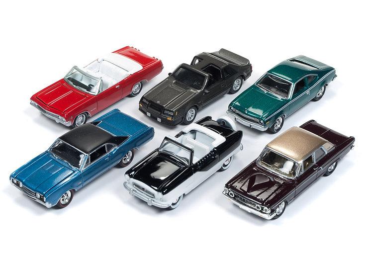 Johnny Lightning JLCG014 - Set B - 6 Car Case