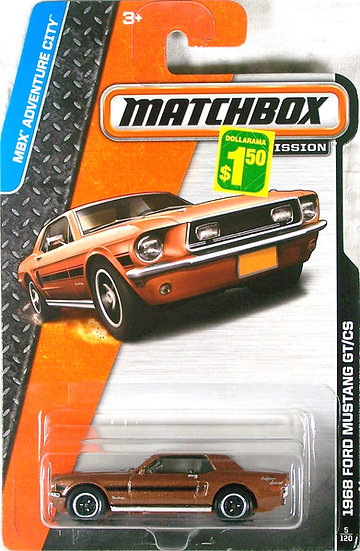 MB14-005 .. 68 Ford Mustang GT/CS